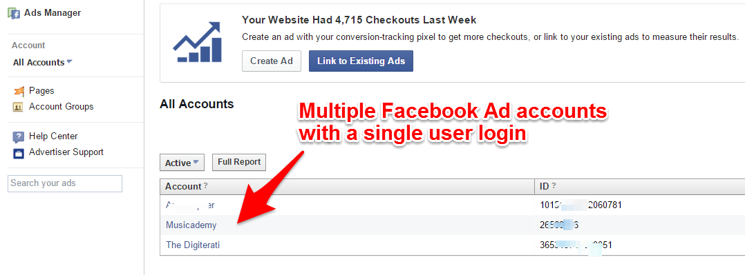Ask the Expert: How to create multiple Facebook ad accounts