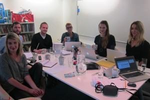 Digital marketing workshop with the team at First 10, Leeds