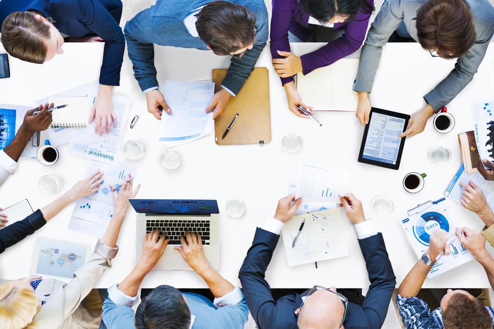 Digital team meeting