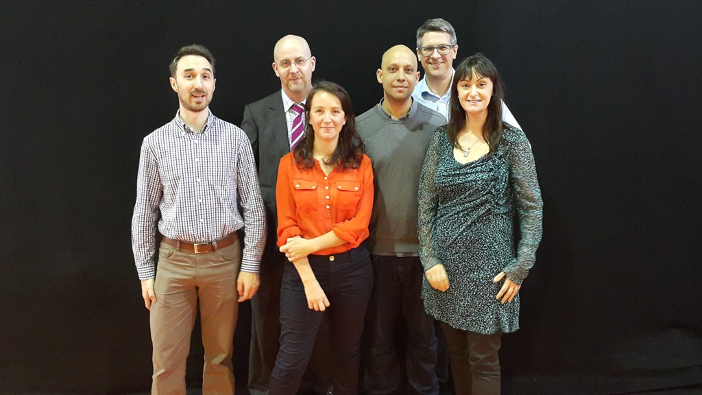Some of The Digiterati trianing team: Scott Ross, Geraint Holliman, Sophie Smith, Yusuf Bhana, Carlton Jefferis, Marie Page.