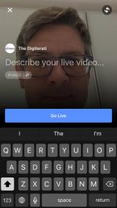 Facebook Live Title