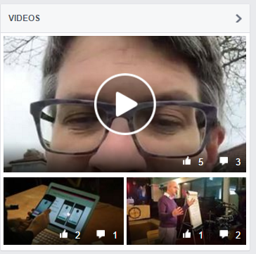 Facebook Live in the Video archive