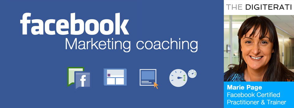 Facebook Marketing Coaching with Marie Page The Digiterati