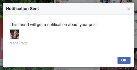 Friend Notification Facebook
