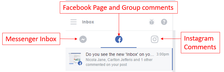 New feature] Using the New Inbox on your Facebook Page: the