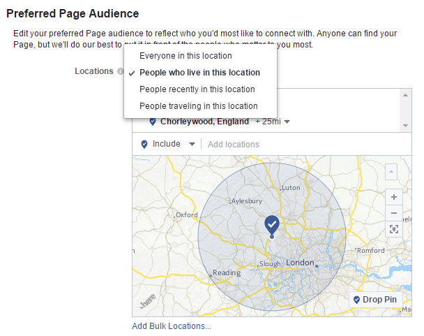 Preferred-Page-Audience-geographic-location