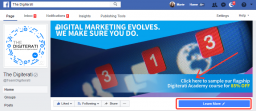 Facebook Cover Photo Email address data capture