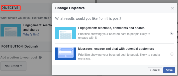 Changing-ad-objectives-on-boosted-posts