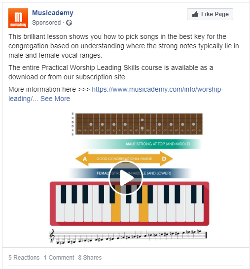 Musicademy-post-for-Facebook-ad-testing