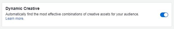 Dynamic-Creative-option