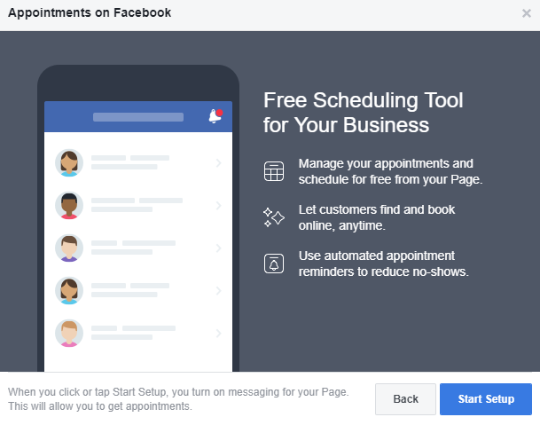 How to set up appointments on your Facebook Page | The Digiterati